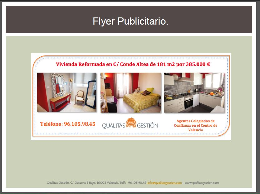 Marketing para vender una vivienda en valencia - Vender una vivienda ...